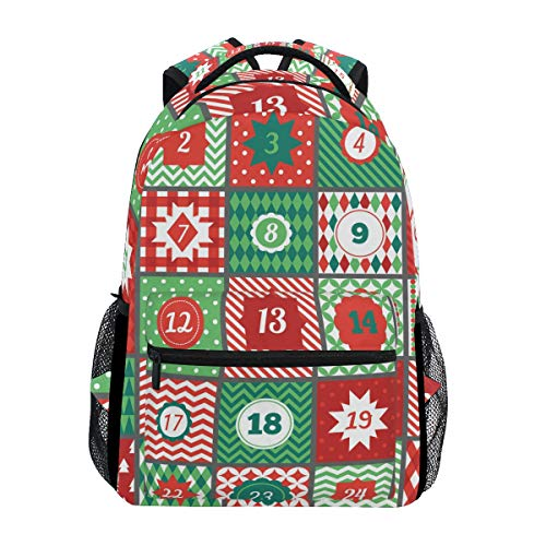 School College Backpack Rucksack Travel Bookbag Outdoor Advent Calendar