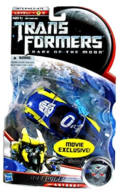 Transformers 3 Dark of The Moon Exclusive Deluxe Action Figure Sideswipe