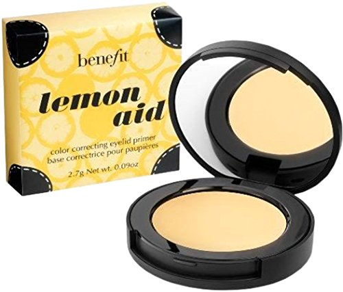Benefit Lemon Aid Color Correcting Eyelid Primer, 0.09 oz/2.7g