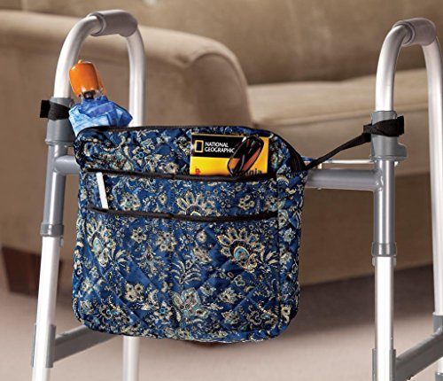 Cover Paisley Checkbook - LAMINET Walker/Wheelchair Bag - Paisley