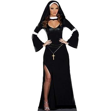 Yunfeng Halloween Bruja Disfraz para Mujer Halloween Bruja ...