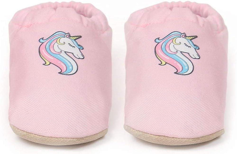 Baby On The Go First Steps Slip-On Baby Slipper, Unicorn