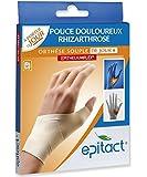 Epitact orthèse proprioceptive souple pouce douloureux main droite - Taille M