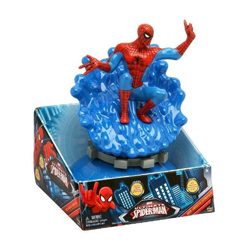Marvel Spider-Man Web Shooter Spinning Water Sprinkler