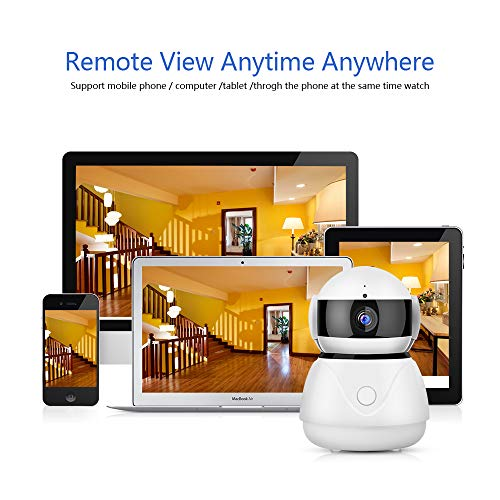 Security Camera 1080P HD WiFi Wireless IP Camera with Cloud Storage  PTZ,Two-Way Audio, Night Vision, Home Security Camera System Motion  Detection