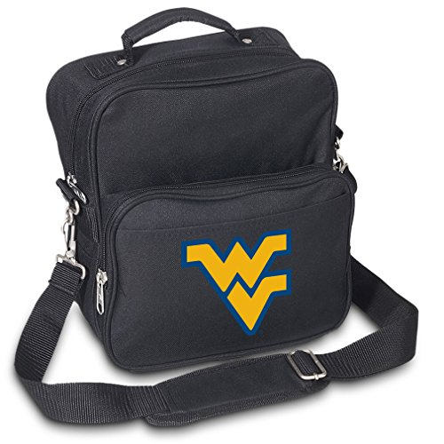 West Virginia University Travel Bag or Small Crossbody Day Pack Shoulder Bag by Broad Bay