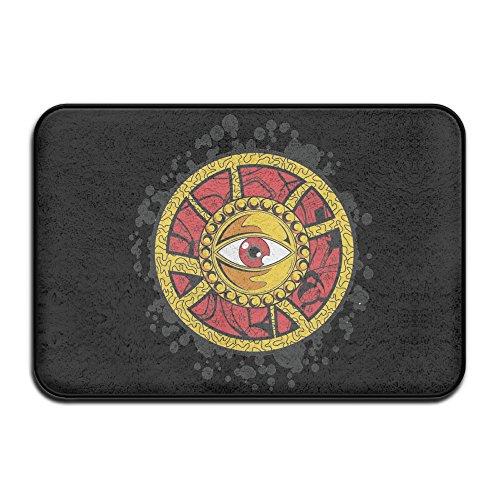 Doctor Strange Eye Of Agamotto Symbol Non-Slip Entrance Indoor/Outdoor/Front Door/Bathroom Mats 60x40x1CM - Strange Nests