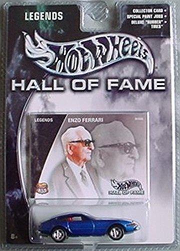 Hot Wheels Hall of Fame Legends Enzo Ferrari 365 GT BLUE