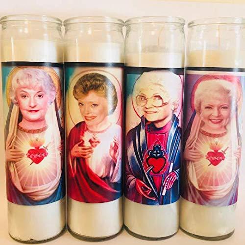 Golden Girls Prayer Candle Set - Celebrity Parody