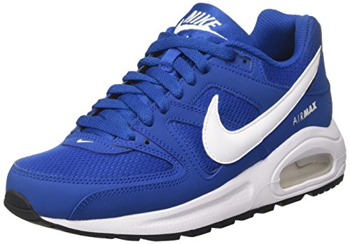 Nike Air Max Command Flex (GS) Unisex-Kinder Sneaker Mehrfarbig (Blue Jay/white/black)