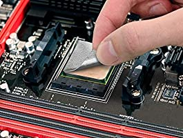 Innovation Cooling Graphite Thermal Pad Alternative To Thermal PasteGrease 40x40