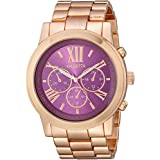 Valletta Women's FMDCT526A Quartz Rose Gold-Tone Watch