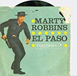 #8: El Paso | Running Gun - Marty Robbins (Columbia Records 1959) Excellent (5 out of 10) - Vintage 45 RPM Vinyl Record