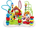 Wooden Activity Centre Beads Maze - Early Education 1 Year olds Baby Toy- Wooden Toys for 1 Year olds