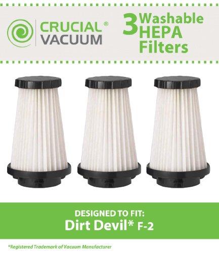 dirt devil f2 filter washable - 7