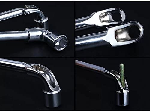 L-type 22mm Double-end Hex Socket Wrench 40CR Steel multi-use Surface Sandblasting hand tools