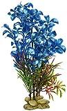 SPORN Aquarium Decoration, Hygrophilia Plant Blue 8''