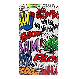 SUMCOM Graffiti Pattern Back Cover Hard Case For Sony ST27i Xperia go