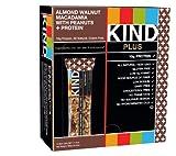 KIND Bars, Almond Walnut Macadamia + Protein, Gluten Free, 10g Protein, 1.4 Ounce Bars, 12 Count