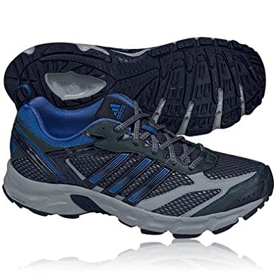 new concept d16f6 58370 adidas Duramo 3 Trail Mens Running Shoes 12 Black
