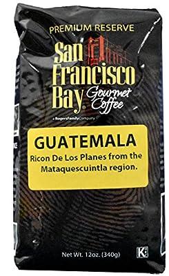 San Francisco Bay Coffee Whole Bean, Guatemala Coffee, 12 Ounce