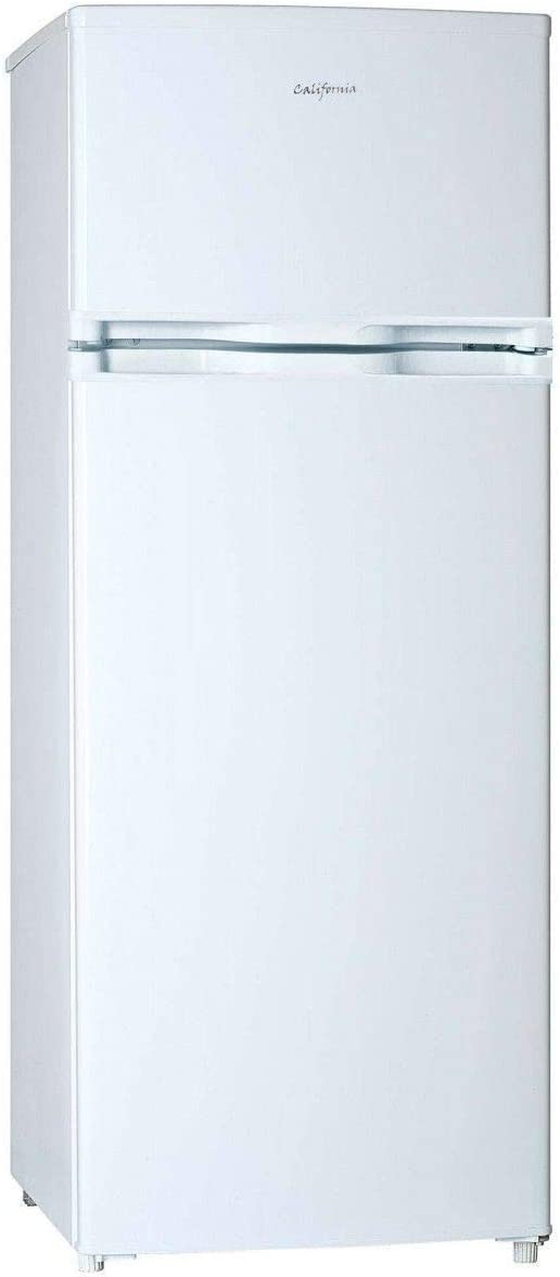 California - df2281 - Réfrigérateur 2 portes 55cm 207l a+ statique blanc