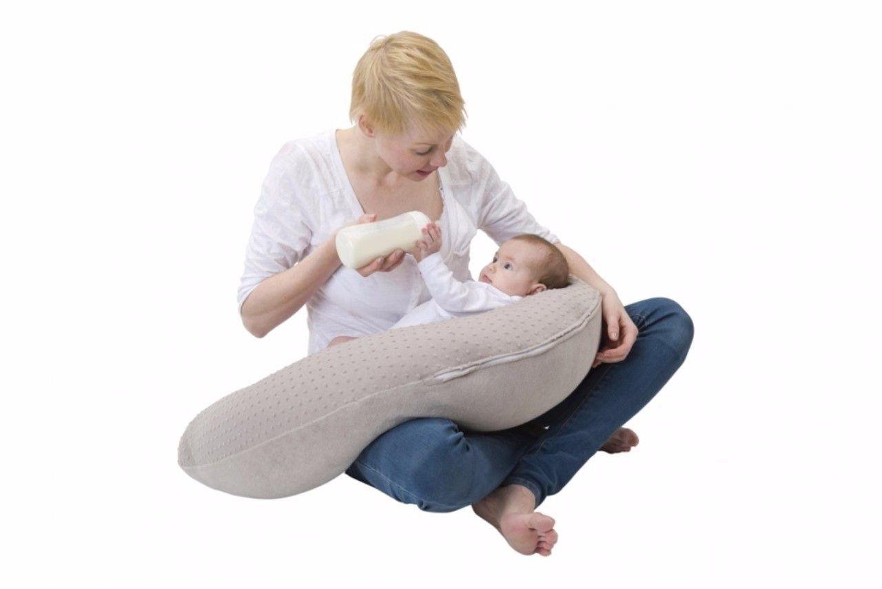 Babymoov Plumetis A008023 - Cojín de lactancia, color zinc ...