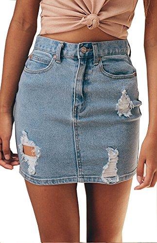 Jean Skirt - 8