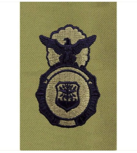Vanguard AIR FORCE EMBROIDERED IDENTIFICATION BADGE: SECURITY POLICE - ABU - Security Forces Badge