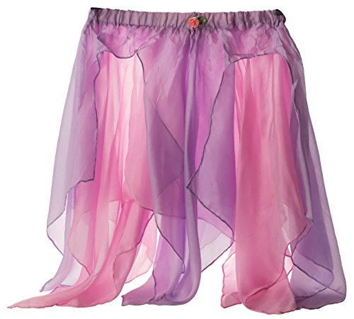 Silk Cloth Game - Sarah's Silks - Reversible Silk Fairy Skirt (Pink/Lavender)