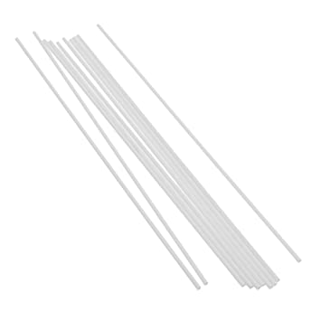 Toys & Hobbies 10pcs 250mm Length Abs Plastic Square Tube Pipe Rod Stick Architectural Model Making Building Diy Sand Table Model Materials