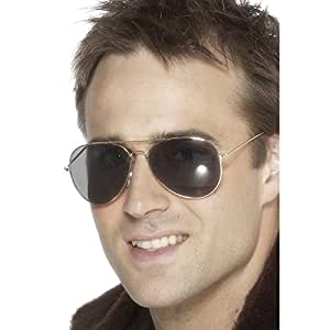 Smiffys - gafas para disfraz de aviador