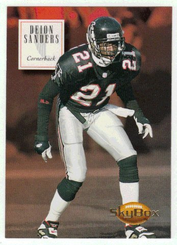 Deion Sanders (Football Card) 1994 SkyBox Premium # ()