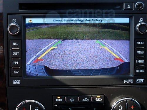 Camera Source CS-GMTRb Chevy Silverado GMC Sierra Backup Camera for Universal Monitors RCA