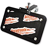 Accutronix LPF024HV-B Horizontal or Vertical Side-Mount License Plate Kit