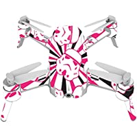 Skin For Yuneec Breeze 4K Drone – Pink Trooper Storm | MightySkins Protective, Durable, and Unique Vinyl Decal wrap cover | Easy To Apply, Remove, and Change Styles | Made in the USA