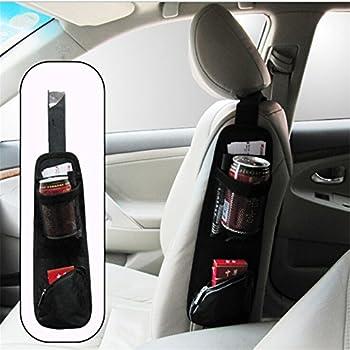Universal Car Seat Storage Organizer   Portable Hanging Storage Bag With  Multi Pocket Mesh