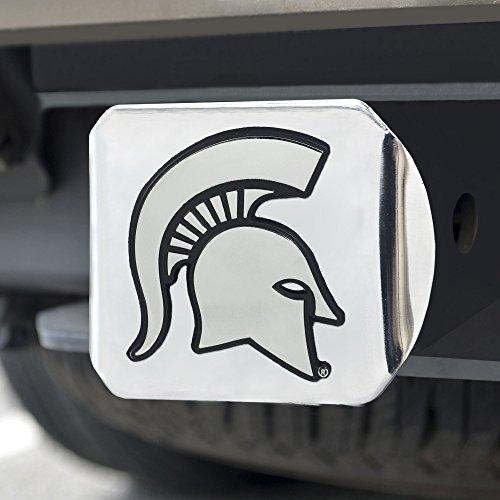 FANMATS  15073  NCAA Michigan State University Spartans Chrome Hitch ()
