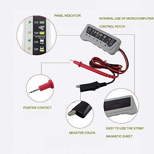 TERMALY Car Battery Reset Tool,Car Battery Tester With Load,Car Battery Tester Analyser,Car Battery Tester Digital,Car 12V battery tester, battery tester, battery car, battery tester,A: Garden & Outdoors