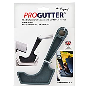 New 2018 PROGUTTER Square line Gutter Cleaning Scraper