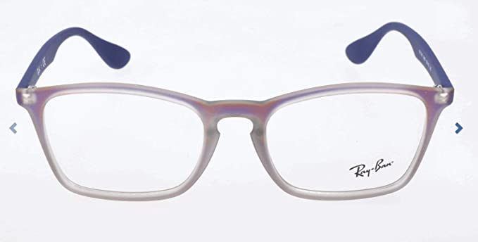 Ray-Ban RX7046 Gafas de goma negra RX7046 5364 51