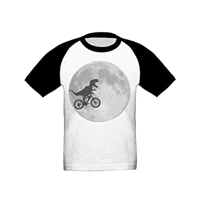 Smart Trade Good Dinosaur Bike and Moon Boy Summer Days T-Shirt