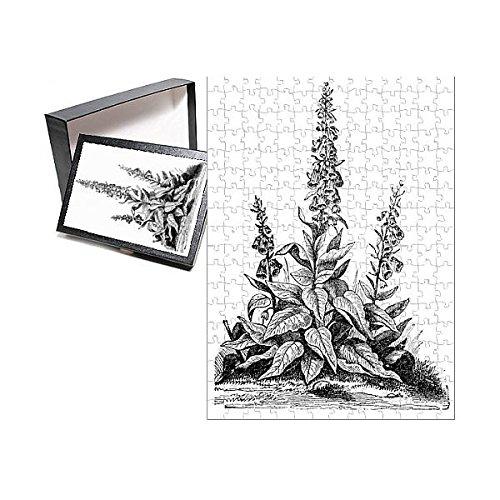 (Media Storehouse 252 Piece Puzzle of Foxglove (Digitalis purpurea) (13591961))