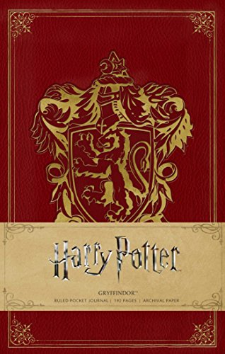 Harry Potter: Gryffindor Ruled Pocket Journal (Insights Journals) [Insight Editions] (Tapa Dura)