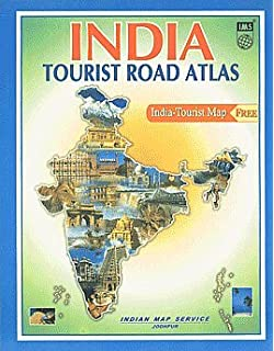 Buy India Road Atlas India Tourist Map Book Online at Low Prices in