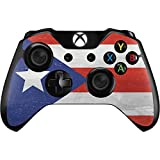 Countries of the World Xbox One Controller Skin - Puerto Rico Flag Distressed Vinyl Decal Skin For Your Xbox One Controller
