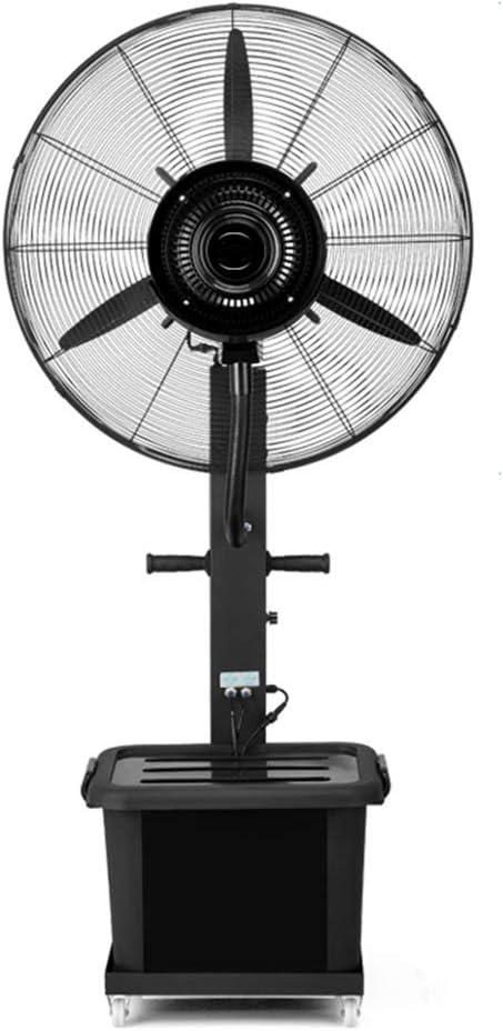 Ventilador de pie Industrial Ventilador de Piso Atomización oscilante más fábrica de Agua Refrigeración Ajuste Negro 3 Engranajes para 10 Horas de Funcionamiento Continuo (Size : 710mm): Amazon.es: Hogar