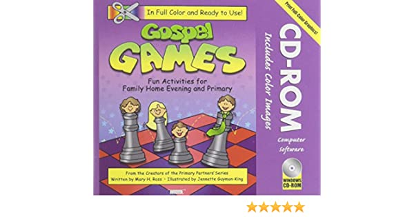 gospel games fun activities for family home evening and primary