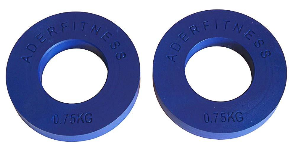 ADER Olympischen Fraktionierte Teller pair- .75 kg blau