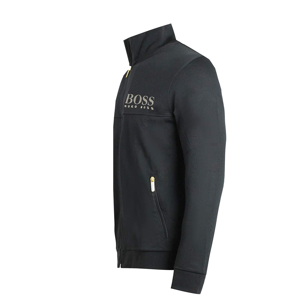 Hugo Boss 50420366 001 - Chaqueta de chándal, Color Negro - Negro ...